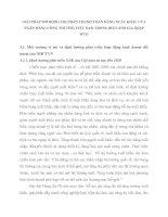 GIẢI PHÁP MỞ RỘNG THỊ PHẦN THANH TOÁN HÀNG XUẤT KHẨU CỦA NGÂN HÀNG CÔNG THƯƠNG VIỆT NAM TRONG BỐI CẢNH GIA NHẬP WTO
