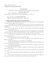 Gián án PHẤN ĐẤU THỰC HIỆN THEO CHUẨN GIÁO VIÊN TIỂU HỌC