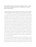 HOÀN THIỆN CÔNG TÁC KẾ TOÁN CHI PHÍ SẢN XUẤT VÀ TÍNH GIÁ THÀNH SẢN PHẨM TẠI CÔNG TY CỔ PHẦN TƯ VẤN XÂY DỰNG GIAO THÔNG 8