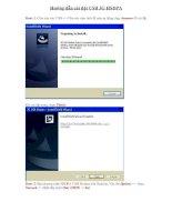 Hướng dẫn cài đặt USB 3G HSDPA