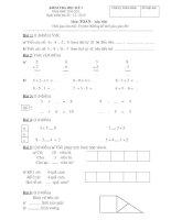 Tài liệu Toán 1 - HK1_2010-2011