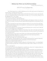 Những Cuộc Phiêu Lưu Của Sherlock Holmes - Bí Ẩn Ở Thung Lũng Boscombe