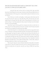 MỘT SỐ GIẢI PHÁP NHẰM HOÀN THIỆN CÁC HÌNH THỨC TRẢ LƯƠNG TẠI CÔNG TY TNHH XÂY DỰNG ĐÔNG TRIỀU