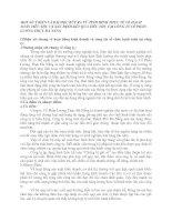 MỘT SỐ Ý KIẾN VÀ BÀI HỌC RÚT RA TỪ TÌNH HÌNH THỰC TẾ VỀ HẠCH TOÁN TIÊU THỤ VÀ XÁC ĐỊNH KẾT QUẢ TIÊU THỤ TẠI CÔNG TY CỔ PHẦN LƯƠNG THỰC ĐÀ NẴNG