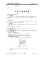 Bài giảng luyện tập tính chất ba đường phân giác