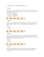 Trắc nghiệm dao động điện từ - dòng điện xoay chiều (Đề 7)