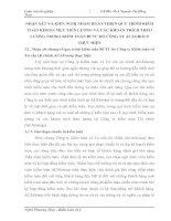 NHẬN XÉT VÀ KIẾN NGHỊ NHẰM HOÀN THIỆN QUY TRÌNH KIỂM TOÁN KHOẢN MỤC TIỀN LƯƠNG VÀ CÁC KHOẢN TRÍCH THEO LƯƠNG TRONG KIỂM TOÁN BCTC DO CÔNG TY ACAGROUP THỰC HIỆN