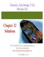 Bài soạn Chapter 12 Solutions