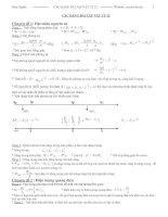 Các dạng bài tập vật lý 12