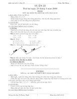 Bài soạn Tuan 22 Buoi 1 - Lop 2