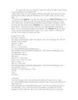 Bài soạn Lam dong ho dem nguoc bang VBA