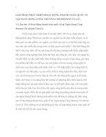 GIẢI PHÁP PHÁT TRIỂN HOẠT ĐỘNG THANH TOÁN QUỐC TẾ  TẠI NGÂN HÀNG CÔNG THƯƠNG CHI NHÁNH CỬA LÒ