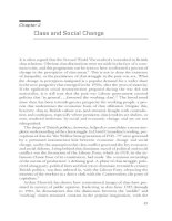 Class and Social Change
