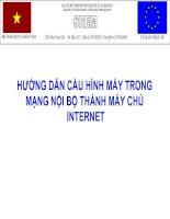 Huong dan cau hinh may trong mang noi bo thanh may chu Internet