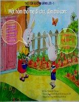 LQVH: Thỏ con không vâng lời mẹ