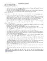 Hướng dẫn sử dụng kế toán NKC bằng file Excel