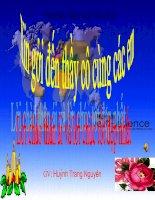 Gián án Thay Nguyen Chau Phi(Tiet 38-Dia Ly)