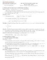 Bài giảng LT cấp tốc Toán 2010 số 4