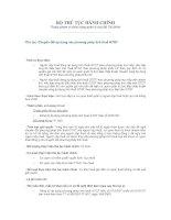 Chuyển đổi áp dụng các phương pháp tính thuế GTGT