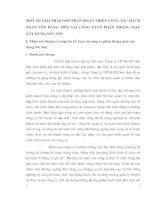 MỘT SỐ GIẢI PHÁP GÓP PHẦN HOÀN THIỆN CÔNG TÁC HẠCH TOÁN VỐN BẰNG TIỀN TẠI CÔNG TYCỔ PHẦN THƯƠNG MẠI-XÂY DỰNG SÓC SƠN