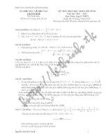 Đề thi và đáp án HSG toan 12 tỉnh thanh hóa 2012-2013