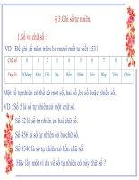 Chuong I-Bai 3-Ghi So Tu Nhien