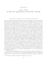 1795-1809 - the Romantic appropriation of Kant (II) - Schelling