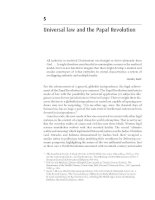 Universal law and the Papal Revolution