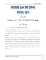 Hướng dẫn sử dụng excel 2010 part 32