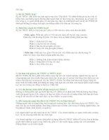 Tài liệu Các câu hỏi thường gặp trong kỳ thi TOEIC