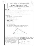 Tài liệu G/a hình học lớp 9