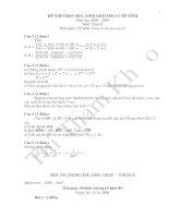 Tài liệu Đề thi Toán 6 HSG tham khảo
