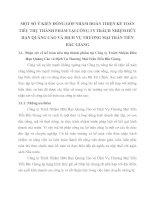 MỘT SỐ Ý KIẾN ĐÓNG GÓP NHẰM HOÀN THIỆN KẾ TOÁN TIÊU THỤ THÀNH PHẨM TẠI CÔNG TY TRÁCH NHIỆM HỮU HẠN QUẢNG CÁO VÀ DỊCH VỤ THƯƠNG MẠI TRẦN TIẾN BẮC GIANG
