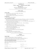 Bài soạn Giao an buoi 2 lop 4 tuan 39
