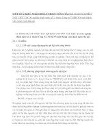 SỐ Ý KIẾN NHẰM HOÀN THIỆN CÔNG TÁC KẾ TOÁN NGUYÊN VẬT LIỆU TẠI  Xí nghiệp thoát nước số 2- thuộc Công ty TNHH NN một thành viên thoát nước Hà nội