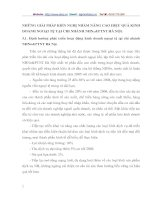 NHỮNG GIẢI PHÁP KIẾN NGHỊ NHẰM NÂNG CAO HIỆU QUẢ KINH DOANH NGOẠI TỆ TẠI CHI NHÁNH NHNO&PTNT HÀ NỘI.