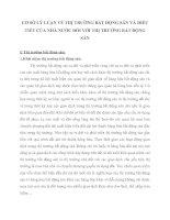 CƠ SỞ LÝ LUẬN VỀ THỊ TRƯỜNG BẤT ĐỘNG SẢN VÀ ĐIỀU TIẾT CỦA NHÀ NƯỚC ĐỐI VỚI THỊ TRƯỜNG BẤT ĐỘNG SẢN