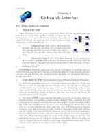 Bài giảng về tin học văn phong: Phần 2 - Internet