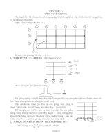 Lý thuyết tính toán khung phẳng