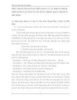 THỰC TRẠNG HẠCH TOÁN TIỀN LƯƠNG VÀ CÁC KHOẢN TRÍCH THEO LƯƠNG TẠI CÔNG TY SẢN XUẤT, THƯƠNG MẠI VÀ DỊCH VỤ PHÚ BÌNH