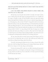 MỘT SỐ GIẢI PHÁP HÌNH THÀNH VÀ PHÁT TRIỂN THỊ TRƯỜNG OTC Ở VIỆT NAM