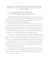 LÝ LUẬN CHUNG VỀ TỔ CHỨC CÔNG TÁC KẾ TOÁN VẬT LIỆU  VÀ PHÂN TÍCH TÌNH HÌNH CUNG CẤP  QUẢN LÝ SỬ DỤNG NGUYÊN VẬT LIỆU TẠI CÔNG TY