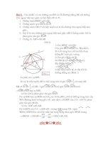BÀI TẬP TOÁN 9 (10-11)