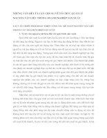 NHỮNG VẤN ĐỀ LÝ LUẬN CHUNG VỀ TỔ CHỨC QUẢN LÝ NGUYÊN VẬT LIỆU TRONG DOANH NGHIỆP SẢN XUẤT