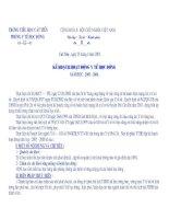 Bài giảng KẾ HOẠCH Y TẾ TRƯỜNG HỌC 2010