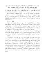 NHẬN XẫT VÀ KIẾN NGHỊ VỀ CễNG TÁC BÁN HÀNG VÀ XÁC ĐỊNH KẾT QUẢ BÁN HÀNG TẠI CễNG TY CỔ PHẦN NGỌC ANH