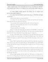 THỰC TRẠNG KẾ TOÁN CHI PHÍ SẢN XUẤT VÀ TÍNH GIÁ THÀNH SẢN PHẨM TẠI CÔNG TY CỔ PHẦN XÂY DỰNG DẦU KHÍ NGHỆ AN