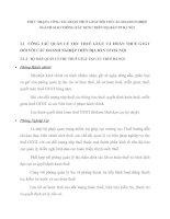 THỰC TRẠNG CÔNG TÁC HOÀN THUẾ GTGT ĐỐI VỚI CÁC DOANH NGHIỆP NGÀNH GIAO THÔNG-XÂY DỰNG TRÊN ĐỊA BÀN TP HÀ NỘI