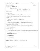 Bài giảng giao an toan 6 moi nhat theo chan KTKN 2010 -2011