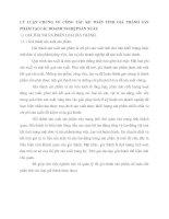 LÝ LUẬN CHUNG VỀ CÔNG TÁC KẾ TOÁN TÍNH GIÁ THÀNH SẢN PHẨM TẠI CÁC DOANH NGHIỆP SẢN XUẤT